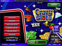 Enlarge Crazy Slots Lobby